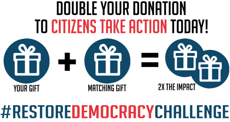 Have your donation matched by becoming a monthly contributor!